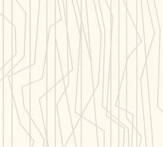 Vliestapete Linien Grafik creme Glanz 36878-3 online kaufen