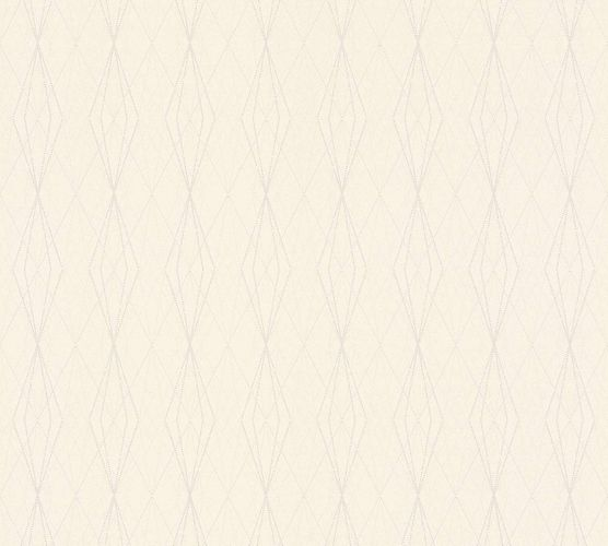 Non-Woven Wallpaper Graphic Diamond cream beige 36879-7 online kaufen