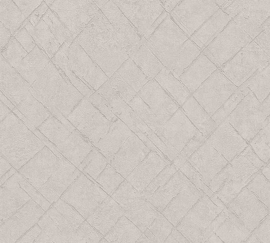 Non-Woven Wallpaper Diamond Abstract beige brown 36881-1 online kaufen