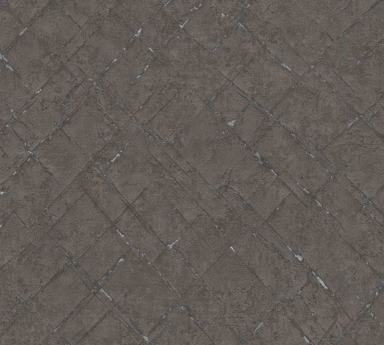 Non-Woven Wallpaper Diamond Abstract brown 36881-6 online kaufen