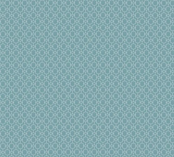 Non-Woven Wallpaper Graphic 3D Effect grey blue 36883-2 online kaufen