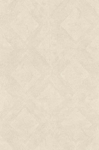 Non-woven Wallpaper Rasch Kelim Tiles cream white 425512 online kaufen
