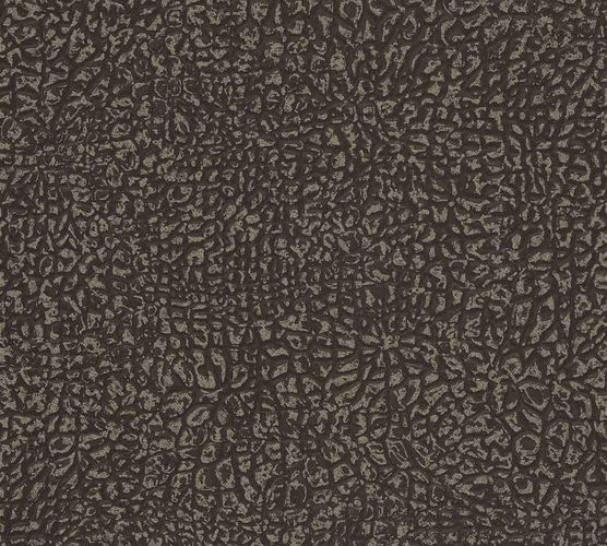 Non-Woven Wallpaper Elephant Skin dark brown black 36970-2