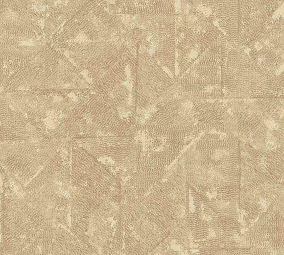 Non-Woven Wallpaper Rhombus Vintage beige Metallic 36974-5 online kaufen
