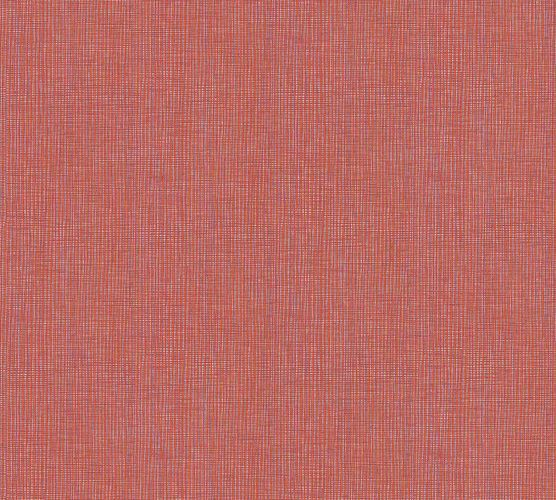 Non-Woven Wallpaper Textile Look red orange 36976-1