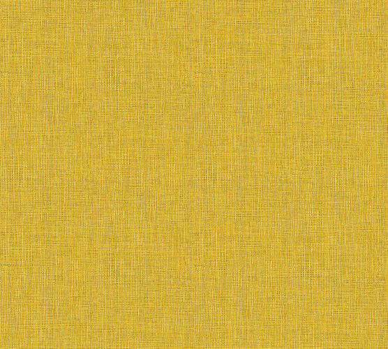 Non-Woven Wallpaper Textile Look yellow beige 36976-2 online kaufen