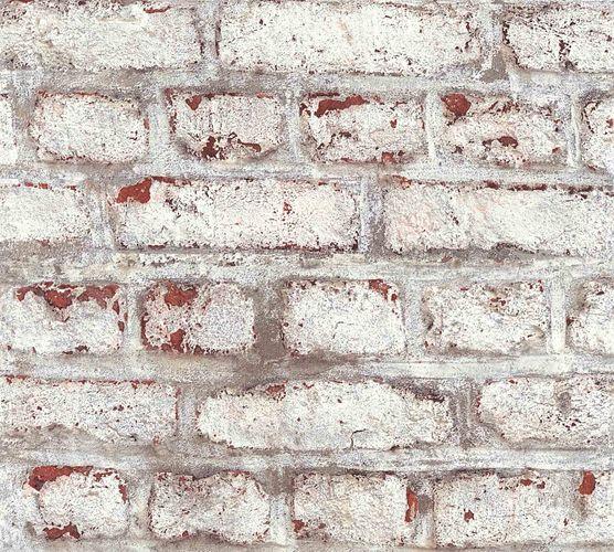 Vliestapete Steine Mauer weiß grau 36280-1 online kaufen