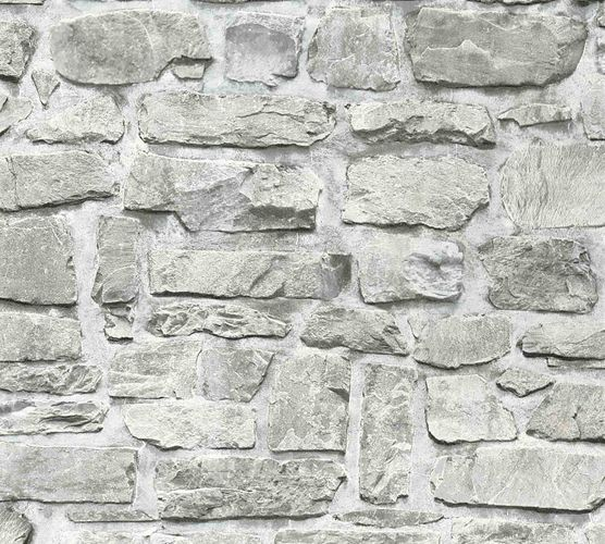 Non-Woven Wallpaper Virgin Stonewall grey white 36370-1 online kaufen