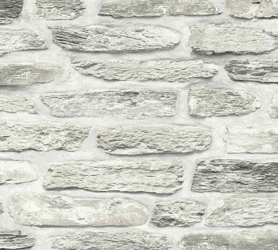Non-Woven Wallpaper Shale Wall cream white 36478-3 online kaufen