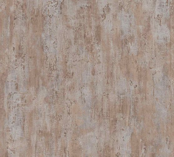 Non-Woven Wallpaper Patina brown silver Metallic 36493-1 online kaufen