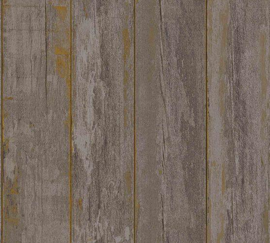 Vliestapete Holzpaneel Vintage taupe 36893-2 online kaufen