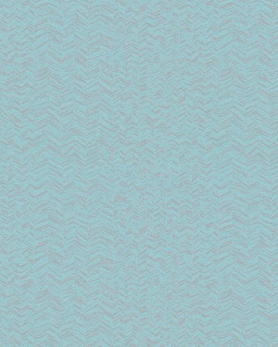 Non-woven Wallpaper Herringbone Pattern blue grey 31246