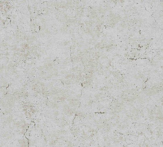 Non-Woven Wallpaper Concrete Vintage grey Gloss 36911-2