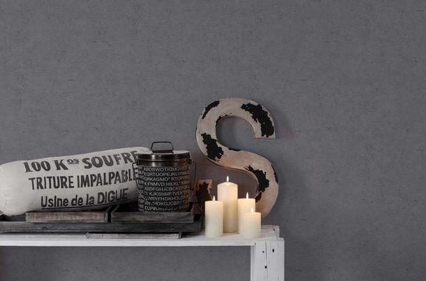 Vliestapete Beton-Optik Vintage anthrazit 36911-5