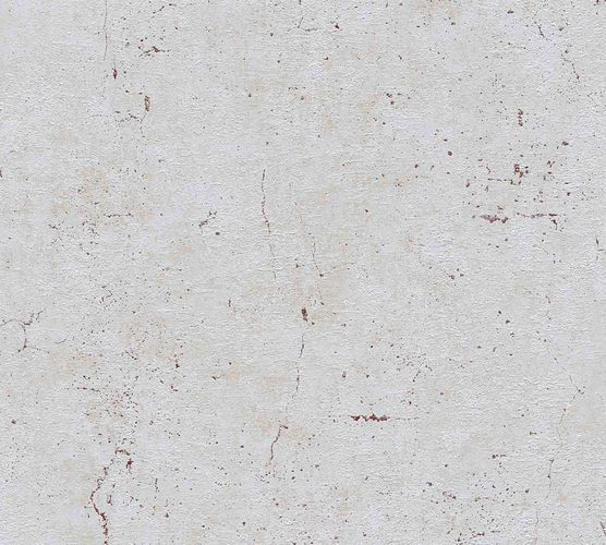 Non-Woven Wallpaper Concrete Vintage blue grey red Gloss 36911-6