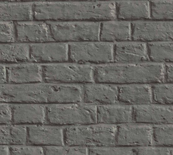 Non-Woven Wallpaper Stone Wall grey anthracite 36912-1 online kaufen