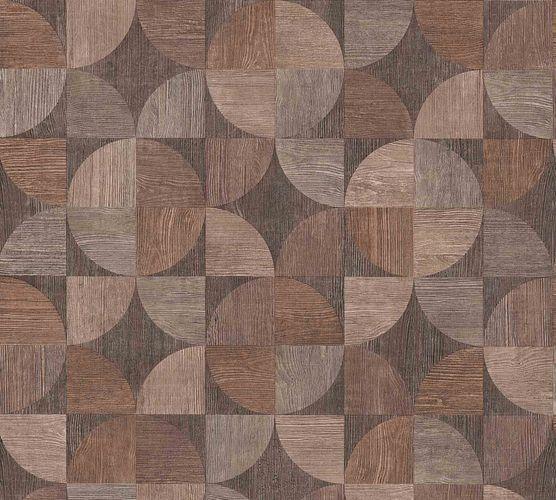 Vliestapete Holz-Optik Retro dunkelbraun 36913-1 online kaufen