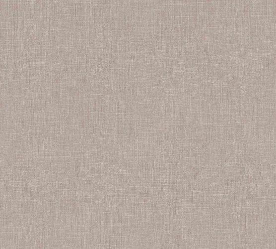 Vliestapete Uni Textil-Optik taupe 36922-4