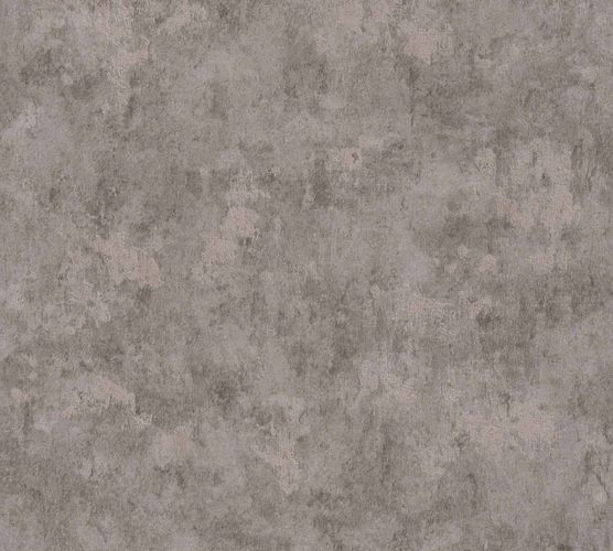 Non-Woven Wallpaper Concrete Vintage grey Gloss 36924-1