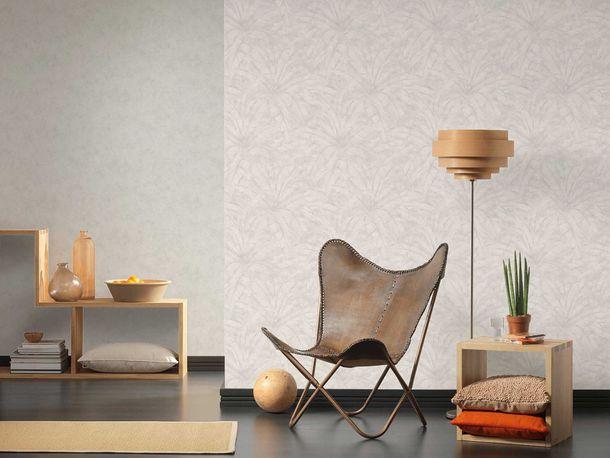 Non-Woven Wallpaper Concrete Vintage cream white grey Gloss 36924-5 online kaufen