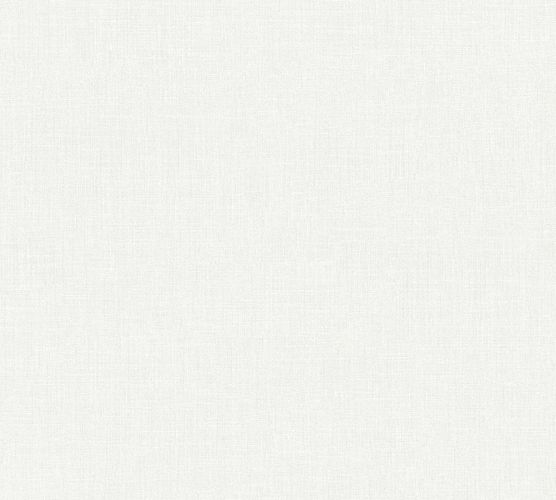 Non-Woven Wallpaper Textile Look Uni white 36925-3