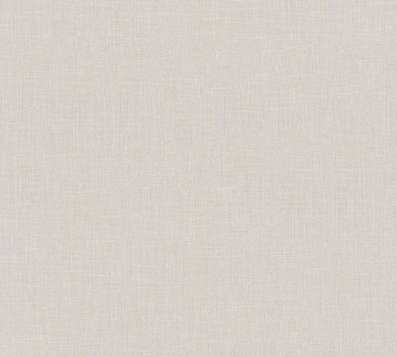 Non-Woven Wallpaper Textile Look Uni grey 36925-5