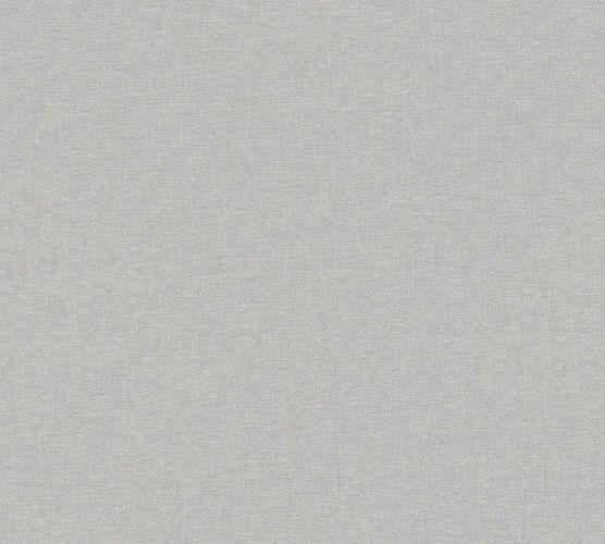 Non-Woven Wallpaper Uni Textile Look silver Gloss 36932-3 online kaufen