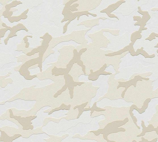 Kids Wallpaper Camouflage grey white 3694-13 online kaufen