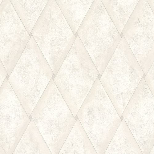 Non-woven Wallpaper Rhombus Concrete Look grey 83935 online kaufen