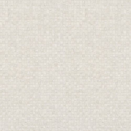 Non-woven Wallpaper Mosaic Look cream grey 83938 online kaufen