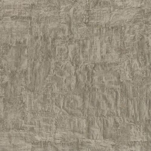 Non-woven Wallpaper Trowel Plaster Look grey metallic 83971
