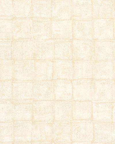Non-Woven Wallpaper Squares Vintage cream beige 30415