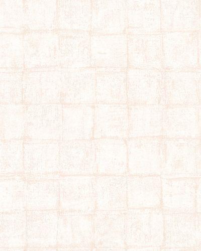 Vliestapete Quadrate Vintage apricot Casual 30417