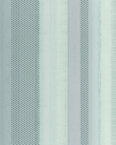 Non-Woven Wallpaper Stripes green grey metallic 30443
