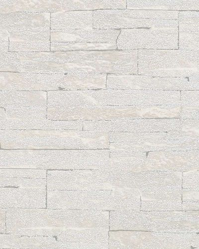 Non-Woven Wallpaper 3D sandstone wall cream grey 58413 online kaufen