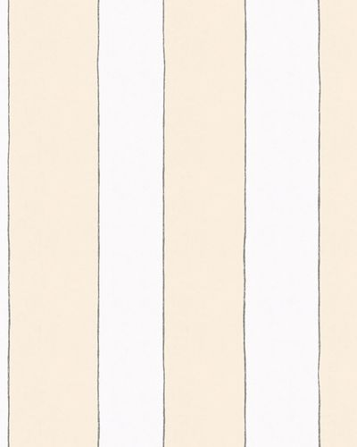 Kids Wallpaper Stripes yellow white Jonas Koetz 31104