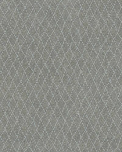 Non-Woven Wallpaper Rhombus taupe light grey Gloss 30808