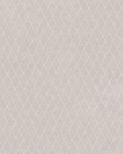 Non-Woven Wallpaper Rhombus beige grey cream Gloss 30809