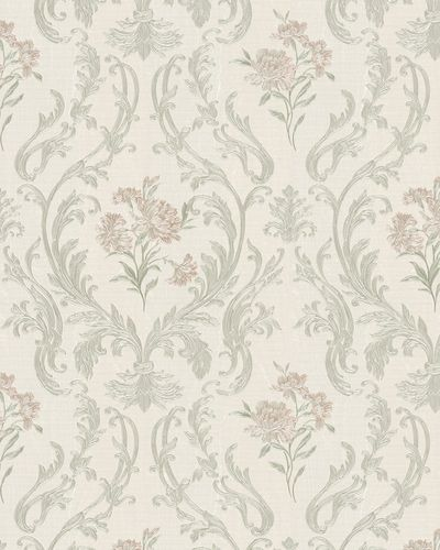 Non-Woven Wallpaper Damask cream gold Gloss 30603 online kaufen