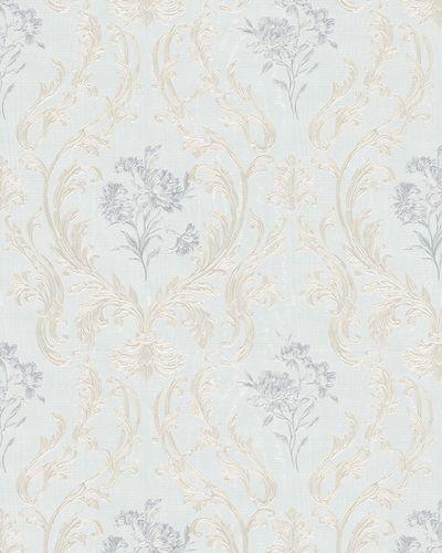 Non-Woven Wallpaper Damask grey gold Gloss 30604 online kaufen