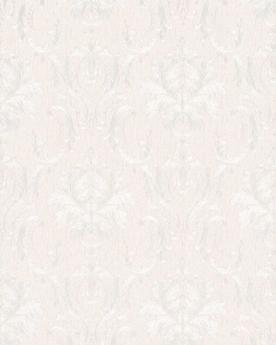 Non-Woven Wallpaper Ornament cream silver Gloss 30623 online kaufen