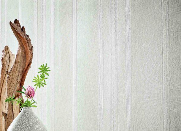 Non-Woven Wallpaper Stripes Satin grey Gloss 30630 online kaufen
