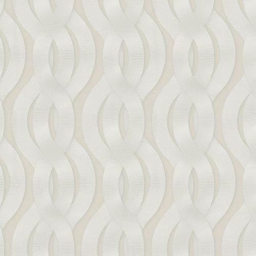 Non-Woven Wallpaper Colani Legend Wave cream Gloss 59802