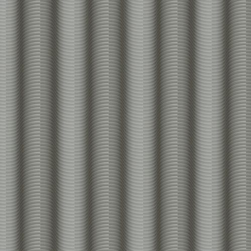 Non-Woven Wallpaper Colani Legend Stripes 3D silver 84053 online kaufen