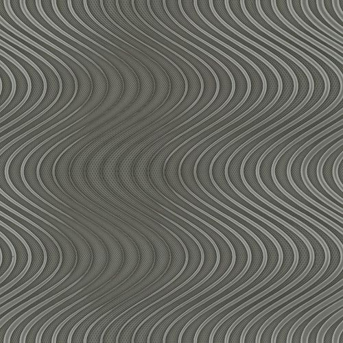 Non-Woven Wallpaper Colani Legend Waves dark silver 84055 online kaufen