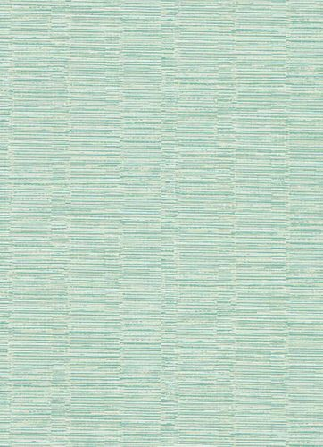Vinyl Wallpaper Horizontal Stripes green white 5428-07