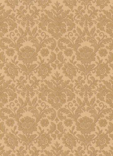 Vinyltapete Barock Floral Textil gold Metallic 6378-27 online kaufen