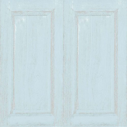 Kids Wallpaper panel wood turquoise beige 005409 online kaufen
