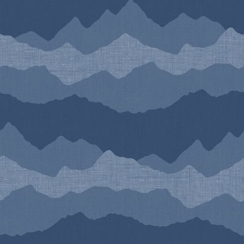 Kids Wallpaper mountains dark blue Babylandia 005419 online kaufen