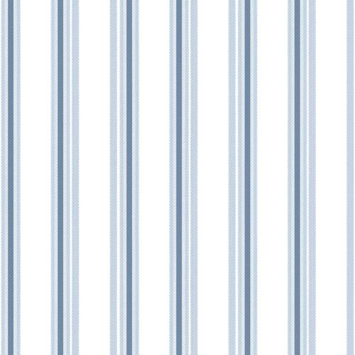 Kids Wallpaper stripped white light blue 005436 online kaufen